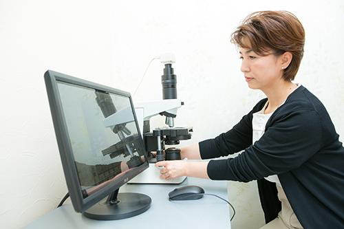 位相差顕微鏡検査について