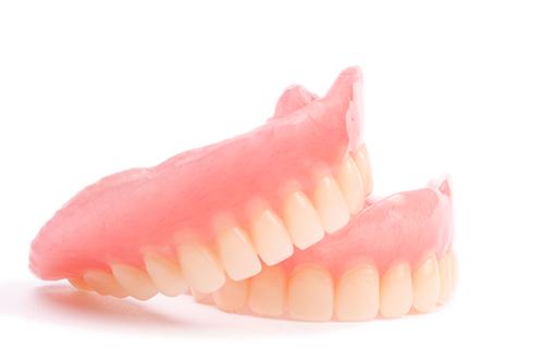 レジン床義歯(保険診療の義歯)