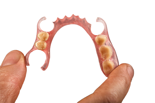自費診療の部分入れ歯(義歯)